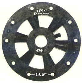 P13 Ceiling Fan Flywheel