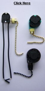 ceiling fan parts - ceiling fan chain switch
